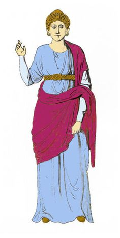 Women's and Girls Clothing - Roman Clothing